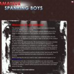 Amateur Spanking Boys Discount Cheapest