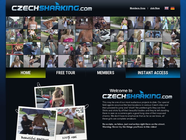 Czechsharking.com Paypal Join
