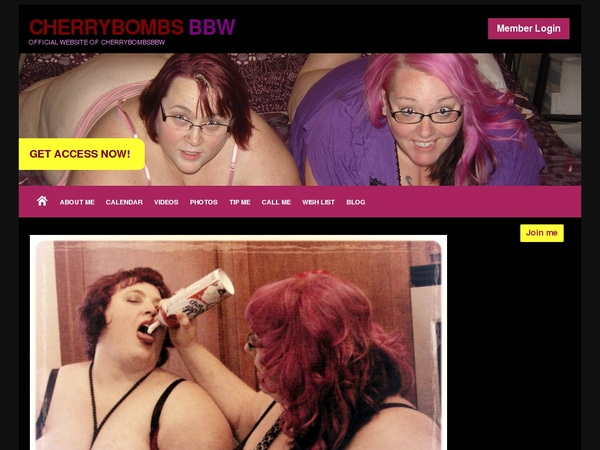 Free CherryBombs BBW Account