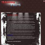 Get Into Training 4 Boys Free