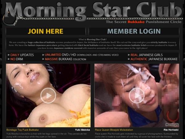 Morningstarclub Limited Offer