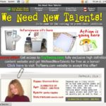 We Need New Talents Trial Login