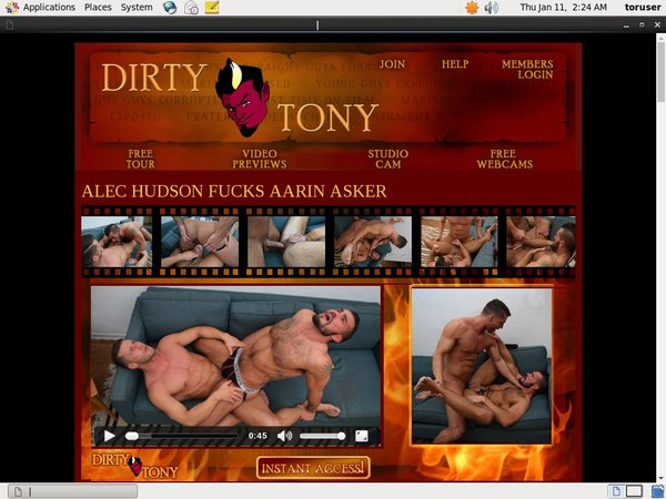 1 Dirty Tony Buy Membership