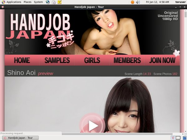 Handjob Japan Coupon Link