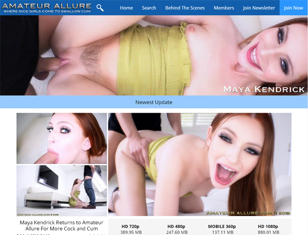 Amateurallure.com Tour