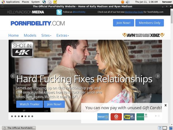 Porn Fidelity Pay With