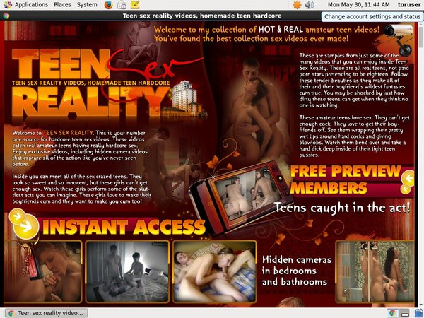 Acc For Teensexreality