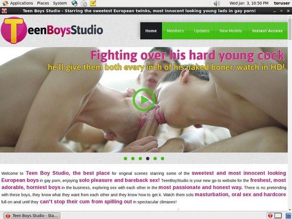 Teen Boys Studio Free Username