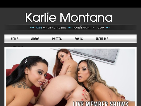 Karliemontana Password Account
