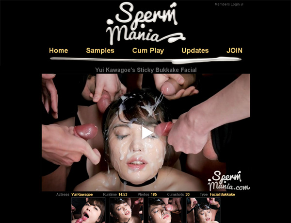 Sperm Mania Member Passwords