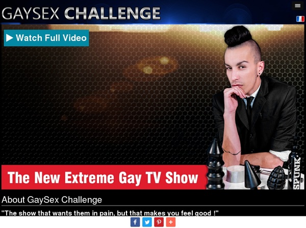 Create Gaysexchallenge.com Account