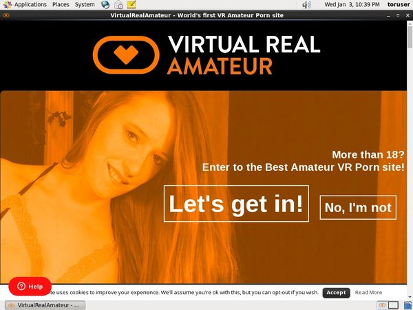 Virtual Real Amateur User Name Password