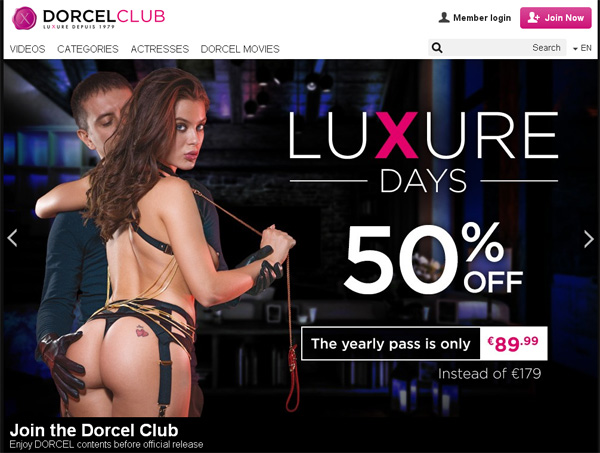 Free Password Dorcel Club