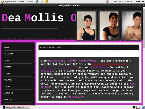 Dea_Mollis Trial Discount Offer